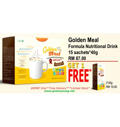 GOLDEN MEAL**BUY 1 FREE 1 SMALL PACK**