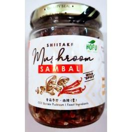 Shiitake Mushroom Sambal (Vegan)